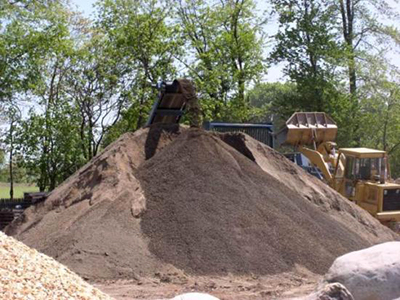 Mulch Topsoil Delivery MD Howard County Maryland landscaping